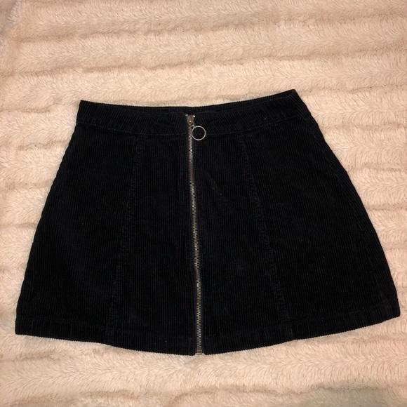2cb9ac496f Forever 21 Skirts | Black Corduroy Skirt From | Poshmark